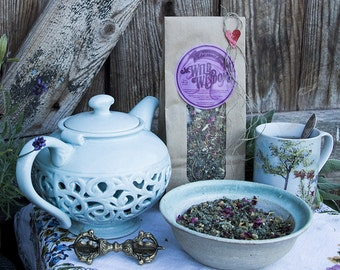 PREGNANT WITH PASSION - Organic herbal tea - Pregnancy Woman Women Fertility Breast feeding Hormones Head ache Calming Soothing Herb Herbs