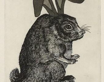Neo Netsuke Rabbit