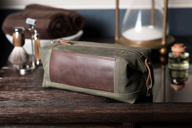 Monogrammed Dopp Kit  Personalized Convertible Men s  5a1981f40650c