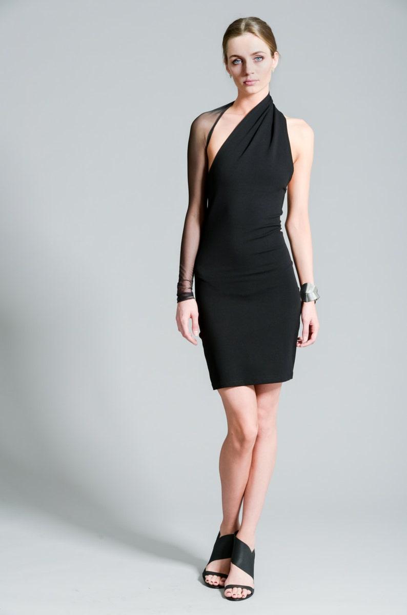 b59748e7d09 Party Dress / One Shoulder Dress / Unique Dress / Stylish | Etsy