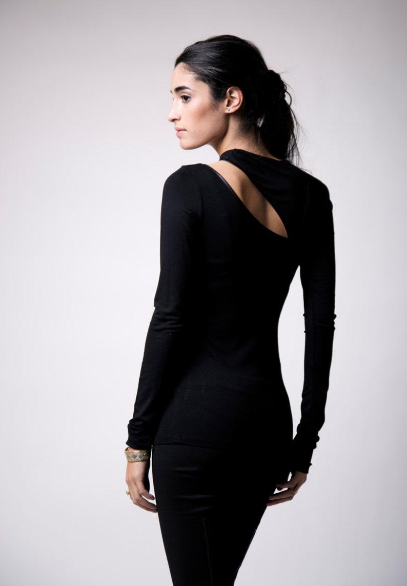 98dfc32558a Party Top   Cut Out Blouse   Long Sleeve Top   Designer Blouse