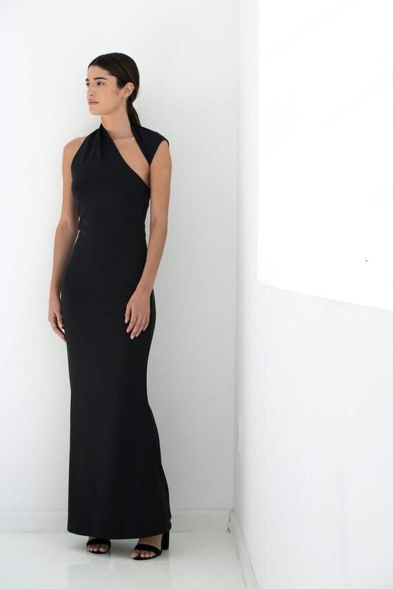Party Dress MD0819 Dress Marcellamoda Dress Dress Dress Fitted Sleeveless Maxi Cocktail Formal Dress Dress Black vwYxqfqt