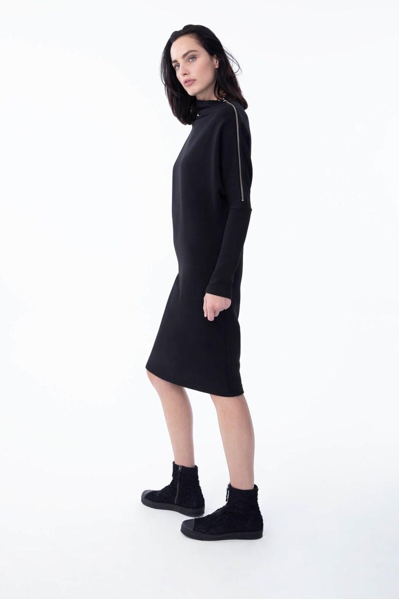 c96e06cc285 NEW Sweatshirt Dress / Dress / Casual Dress / Midi Dress / Day | Etsy