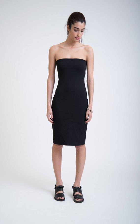Black Marcellamoda Fitted Design Dress Dress MD0258 Tube Dress Dress Dress Cocktail Casual Dress Summer Signature wIOxB1q