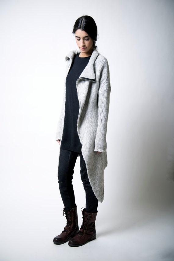 641c935a4786 Sweater Coat   Long Jumper   Asymmetric ...