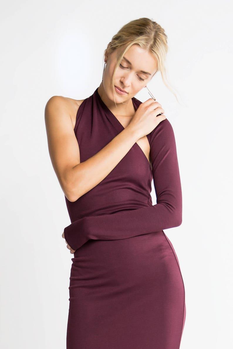 544e15766db Formal Maxi Dress   One Shoulder Dress   Black Dress   Prom