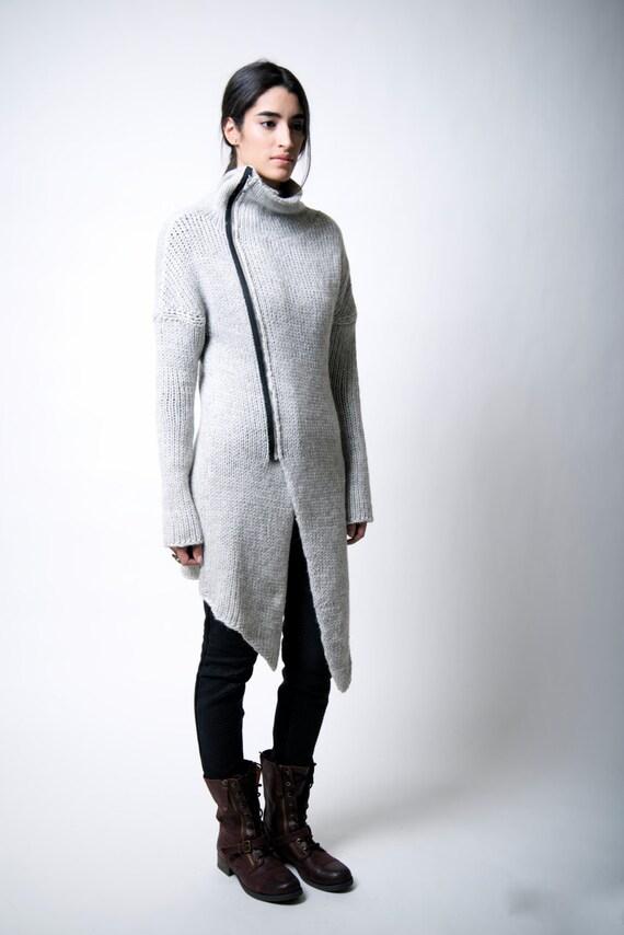 92223462461f Sweater Coat   Zipper ...