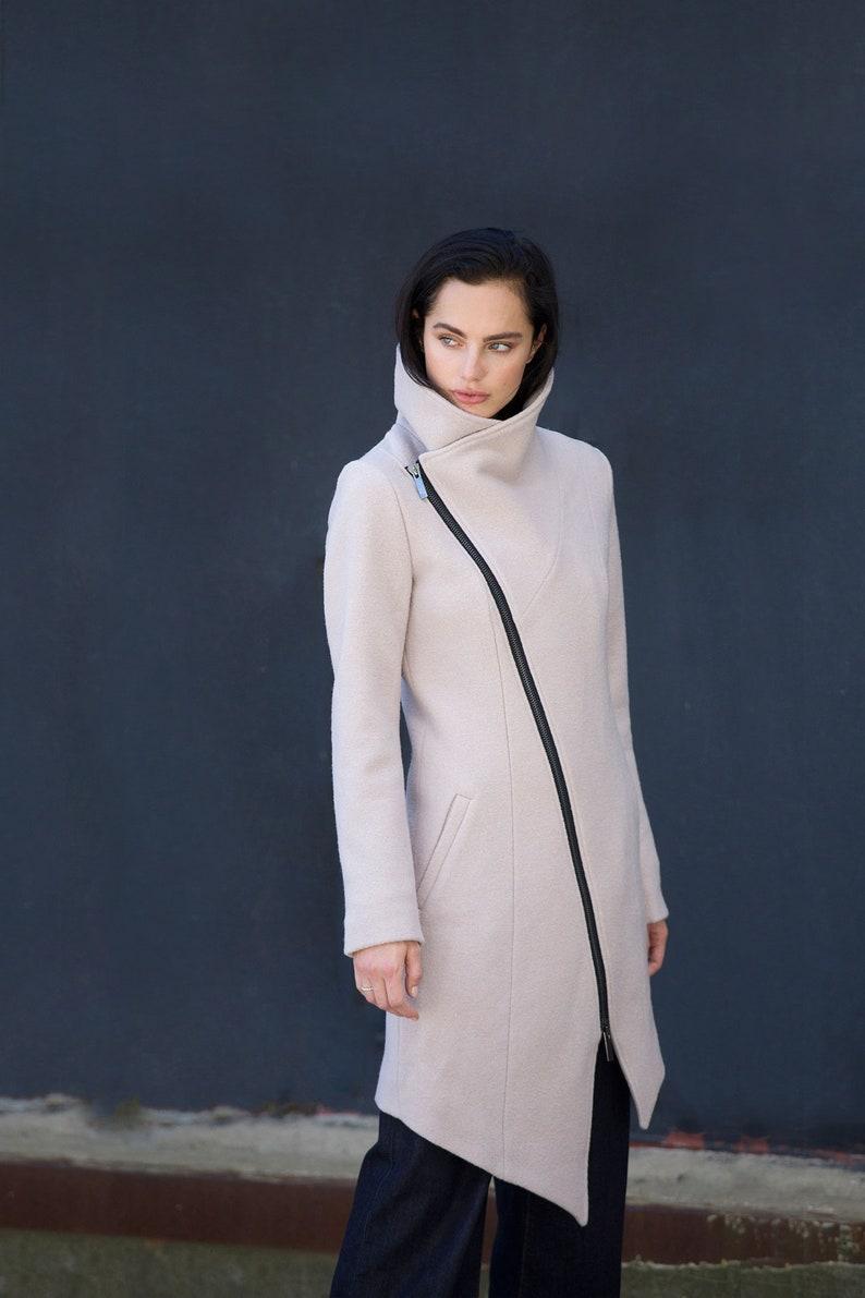 142a188b0c59 Wool Jacket   High Collar Jacket   Winter Jacket