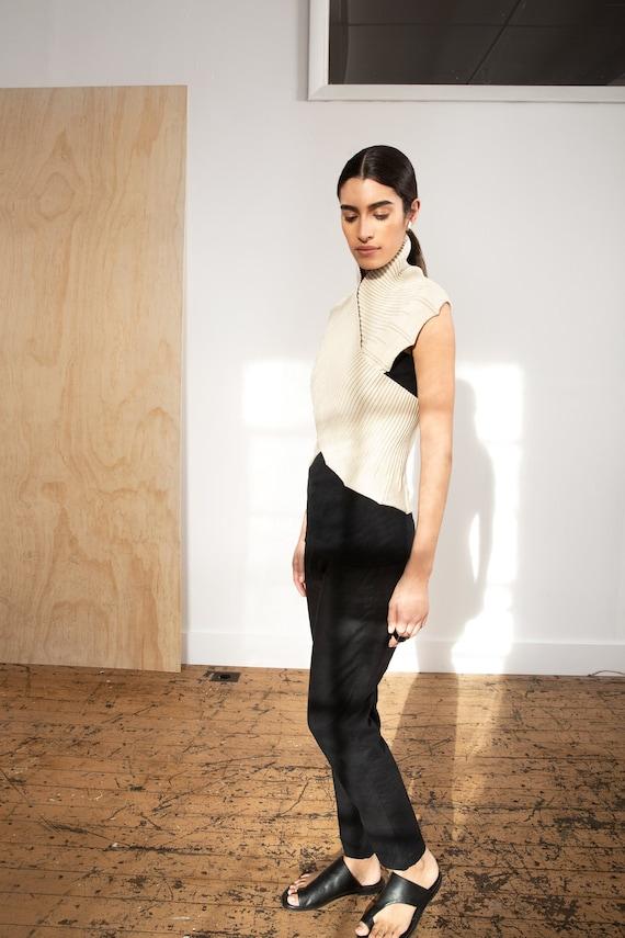 NEW Stylish Light Beige Bolero  Elegant Wear  Knit Bolero  Sleeveless Cardigan  Cotton Sweater  Beige Vest  Marcellamoda MC1141