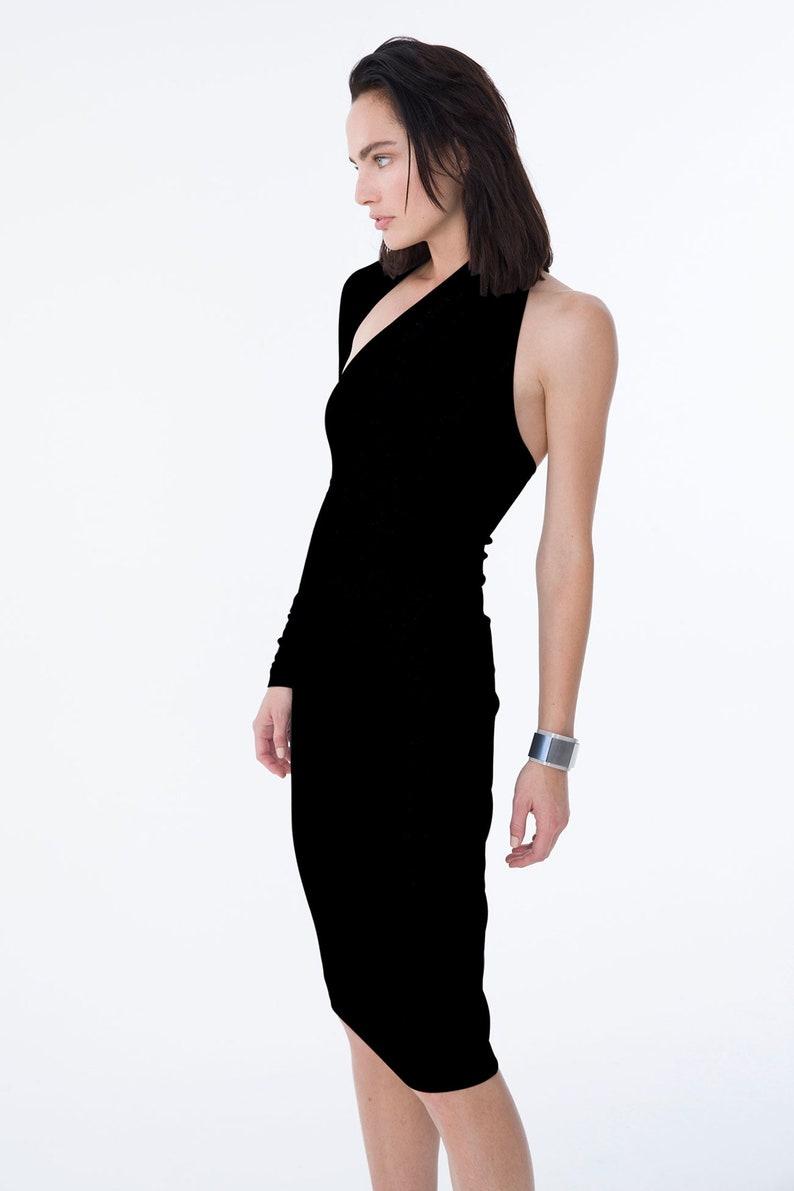 42905560bf4 Cocktail Dress   One Shoulder Dress   Unique Party Dress