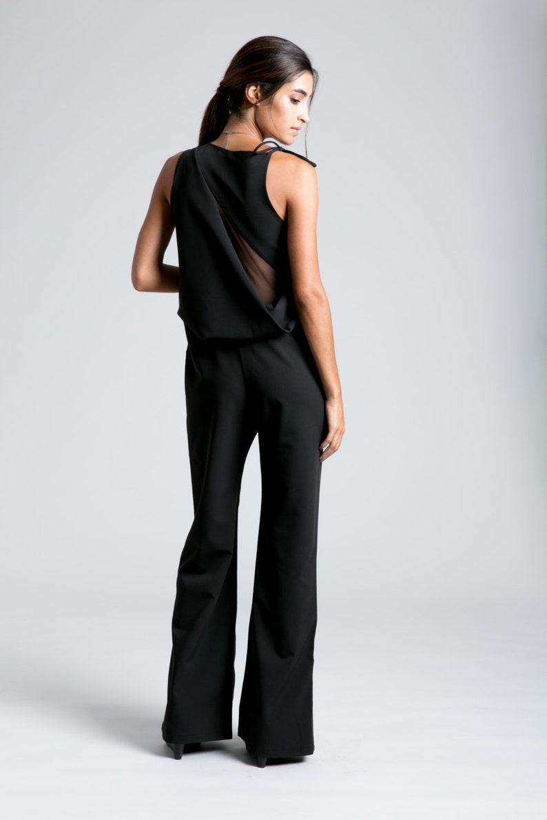 e7a97190f1a Formal Jumpsuit   Black Jumpsuit   Party Dress   Long Pants
