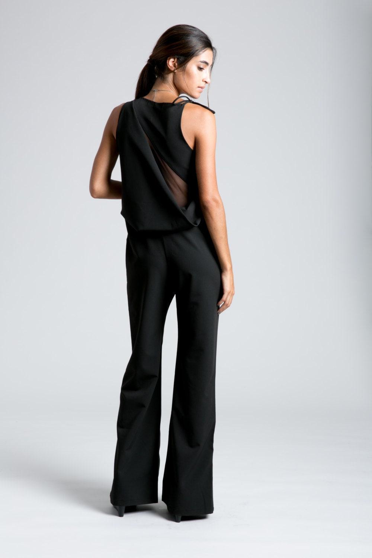 a368026024f Formal Jumpsuit   Black Jumpsuit   Party Dress   Long Pants