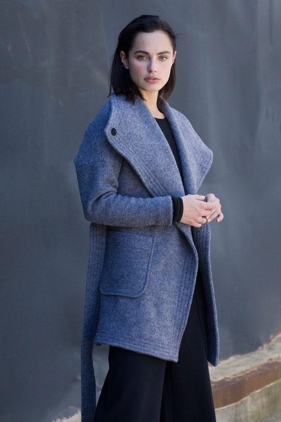 64b12c85aeb4 NEW Wool Coat   Winter Coat   Black Jacket ...
