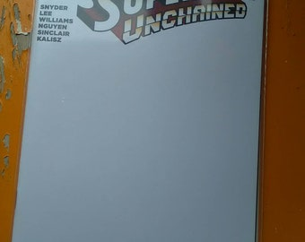 Superman Unchained blank cover comic by boo rudetoons batman wonderwoman avengers justice league Harley Quinn starwars nude mature erotic