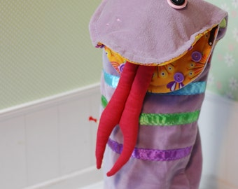 Snake Hand Puppet Monster Stitched Theater For Children