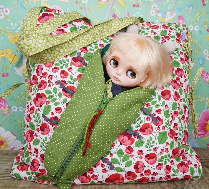 Poppies Bag for you & travel bag for Blythe Protective For image 0