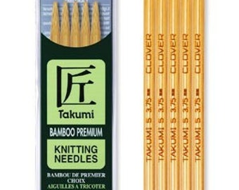 Size 2 Clover 3014-2 Takumi 5-Inch Double Point