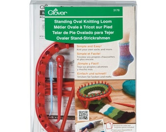 Clover Standing Oval Knitting Loom Part No. 3178 DISCONTINUED
