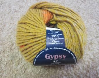 N.Y. Yarns Gypsy Yarn ID No. 38074 Color No. 4 DISCONTINUED