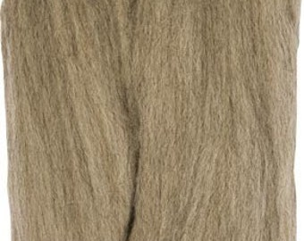 Clover Felting Natural Wool Roving Ash Part No. 7933