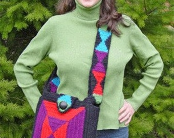 Iknitiative Knitting Pattern Turnabout Felted Tote Part No. A44 DISCONTINUED