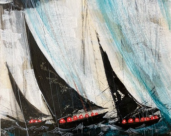 Ohms at Sea   Matted fine art print