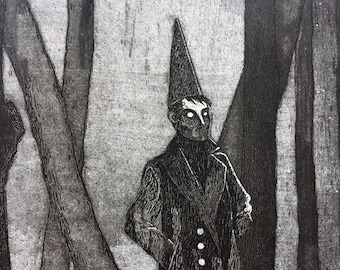 The Witch-boy | Intaglio etching print