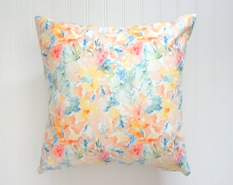 NEW! Abstract Pillow Cover, Designer Fabric Pillow Cover, 18x18, 20x20, 22x22, 24x24, 14x20, 12x21