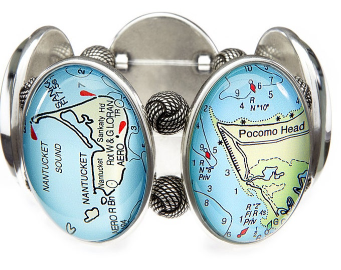 Nantucket Map Bracelet From Joolz Hayworth