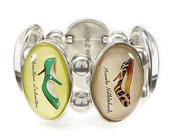 Shoe Bracelet in Silver