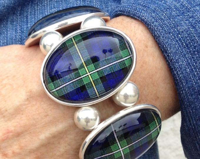 Campbell Tartan Bracelet From Joolz Hayworth