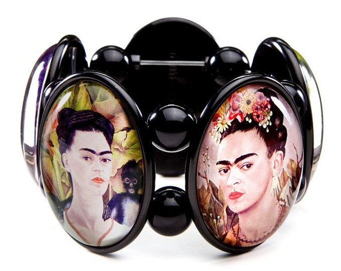 Frida Kahlo Joolz Hayworth Stretch Bracelet