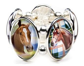 Horses Joolz Hayworth Stretch Bracelet