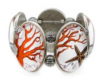 Coral Joolz Hayworth Stretch Bracelet