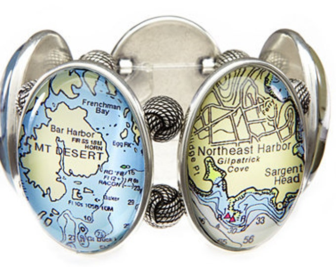 Bar Harbor Maine Joolz Hayworth Stretch Bracelet