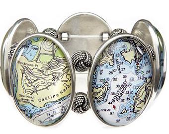 Boothbay Maine Joolz Hayworth Stretch Bracelet
