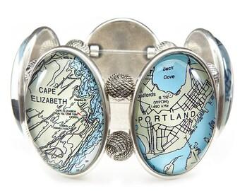 Portland Maine Joolz Hayworth Stretch Bracelet