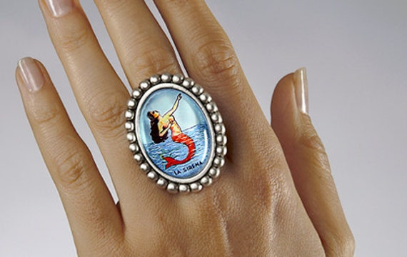 SALE - La Sirena Ring