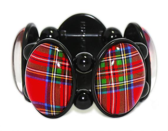 Royal Stewart Tartan Bracelet from Joolz Hayworth
