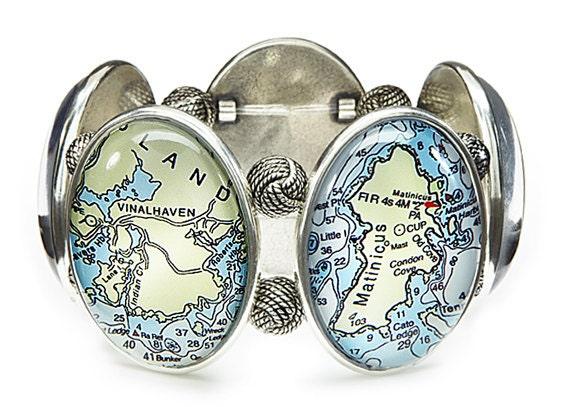 Maine Isles Stretch Bracelet