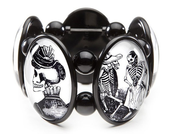 Day of the Dead Bracelet From Joolz Hayworth