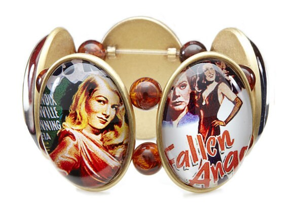 SALE - Dangerous Women Five-Cameo Stretch Bracelet