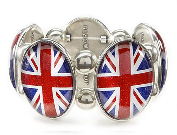 Union Jack Five-Bracelet in Silver