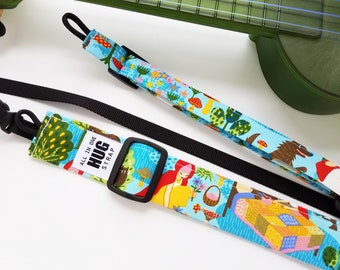 Ukulele Strap All in One Hug Strap Little Red Riding Hood