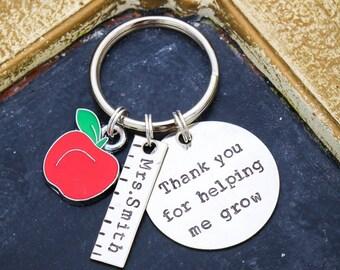 Teacher Appreciation Gift • Teacher Keychain Custom Teacher Gift Teacher Quote • Back to School Teacher Thank You • New Teacher