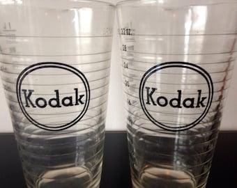 Vintage Kodak Beakers