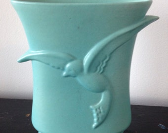 Vintage Pottery with Seagull ,USA