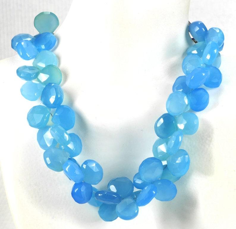 "10x10mm Amethyst Flat Heart-shaped Beads 15/""AAA"