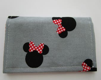 Disney wallet mickey mouse travel wallet disney cruise disney wallet minimalist wallet business card holder minnie mouse card wallet small wallet travel wallet disney cruise fabric wallet colourmoves