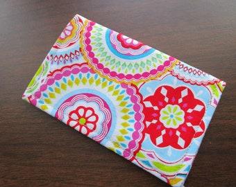 Wallet, Floral, Minimalist Wallet, Business Card Holder, Flowers, Travel Wallet, Bifold Wallet Small Wallet, Floral Print, Card Wallet